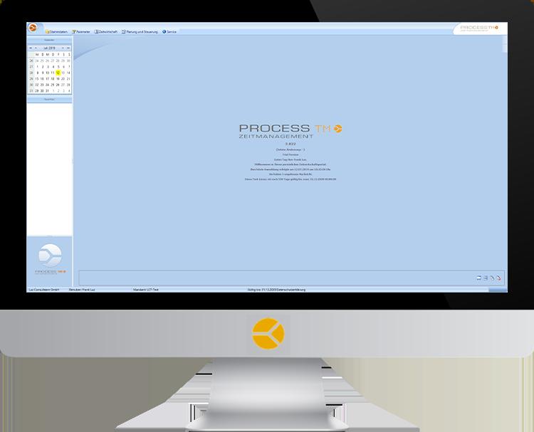 PROCESS TM | Startbildschirm